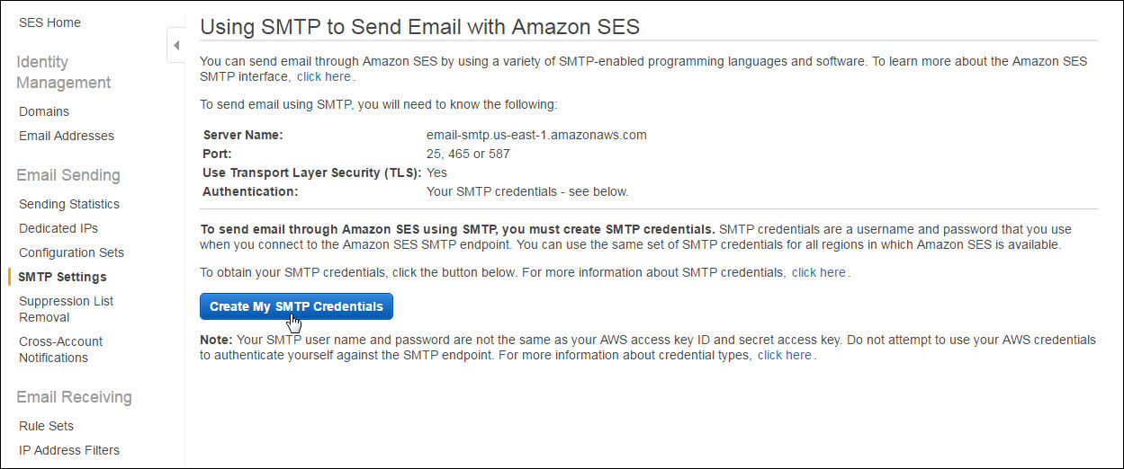How to configure Amazon SES for your domain name to send
